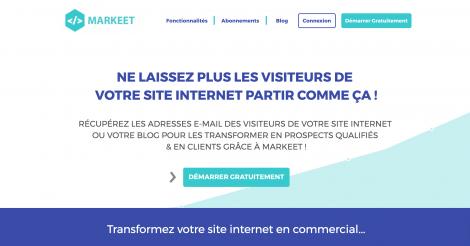 Startup <h3>Markeet.com</h3> France French Tech