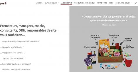 Startup <h3>Kaperli</h3> France French Tech