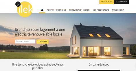 Startup <h3>ilek</h3> France French Tech
