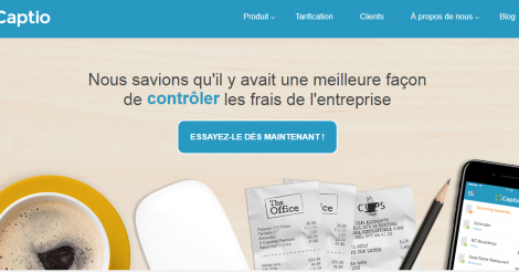 Startup <h3>Captio</h3> France French Tech