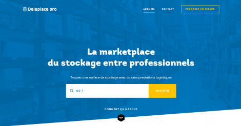 Startup <h3>Delaplace.pro</h3> France French Tech