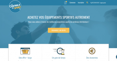 Startup <h3>La Centrale du Sport</h3> France French Tech