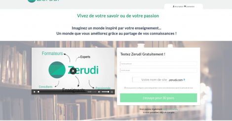Startup <h3>Zerudi</h3> France French Tech