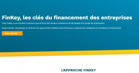 Startup <h3>Finkey</h3> France French Tech