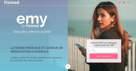 Startup <h3>FIZIMED</h3> France French Tech