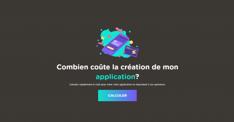 Startup <h3>combiencoutemonapp</h3> France French Tech