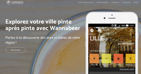 Startup <h3>Wannabeer</h3> France French Tech