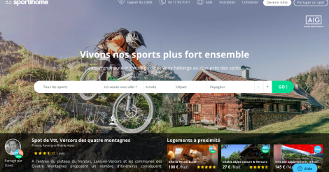 Startup <h3>Sportihome</h3> France French Tech