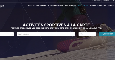 Startup <h3>Sportroops</h3> France French Tech