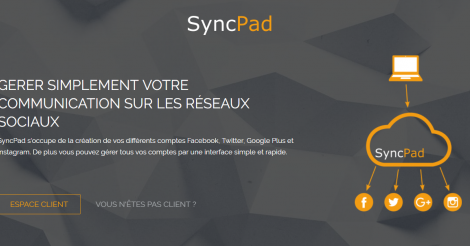 Startup <h3>SyncPad</h3> France French Tech