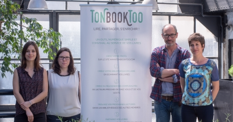 Startup <h3>Tonbooktoo</h3> France French Tech