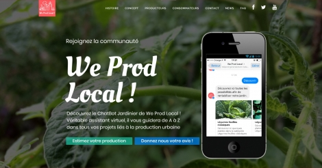 Startup <h3>We Prod Local</h3> France French Tech