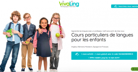 Startup <h3>VivaLing</h3> France French Tech