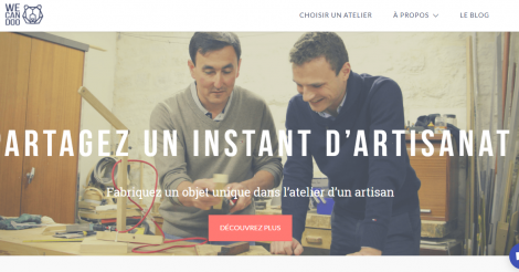 Startup <h3>Wecandoo</h3> France French Tech