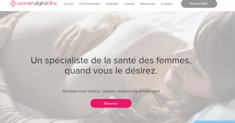 Startup <h3>Women Digital Clinic</h3> France French Tech