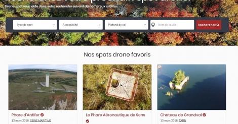 Startup <h3>drone-spot.tech</h3> France French Tech