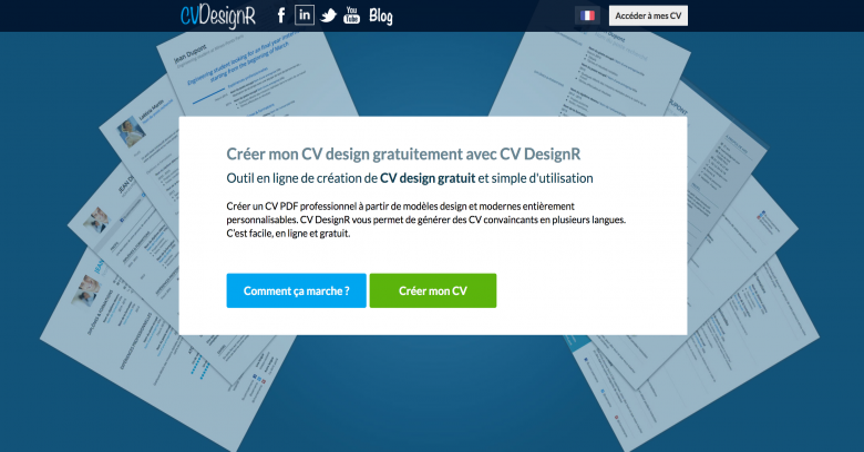 Cvdesignr Startup France French Tech Grand Paris